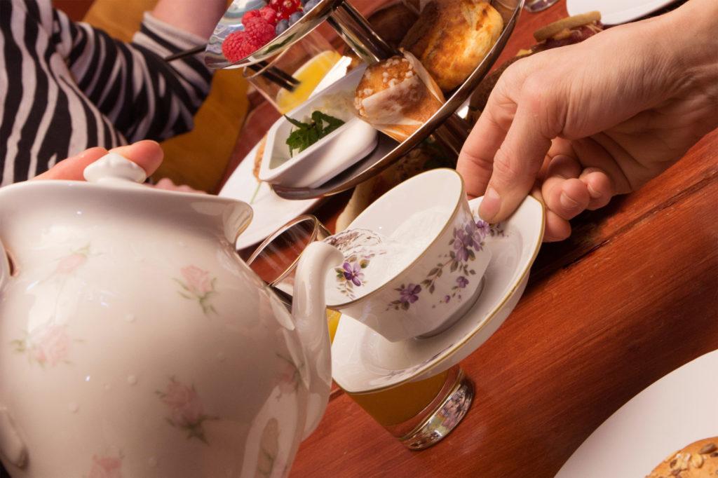 High tea bij Café Van Buren