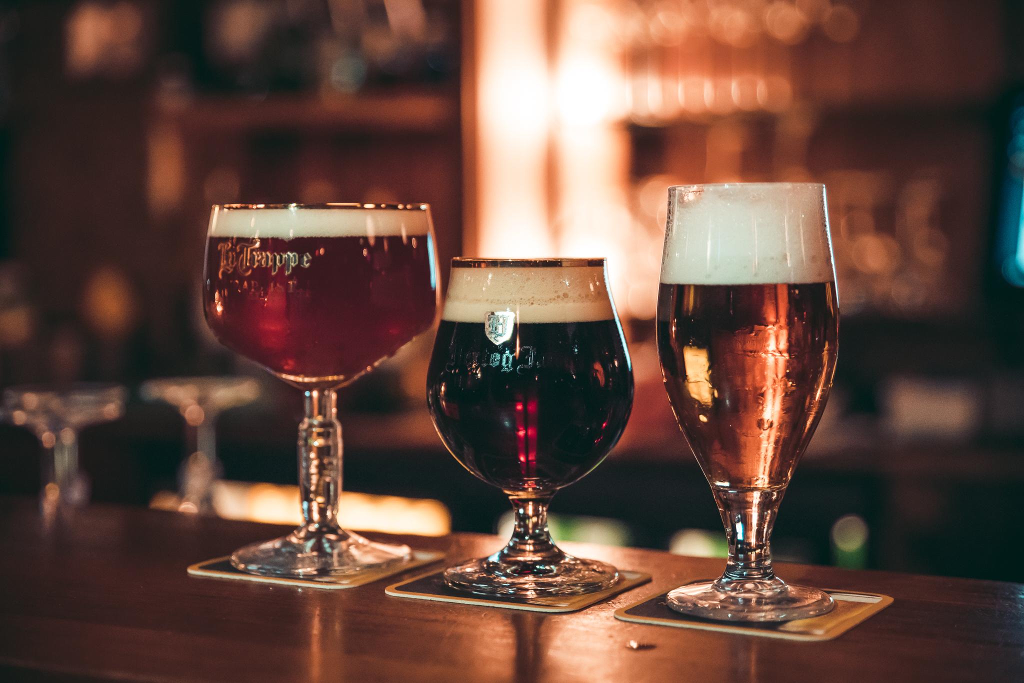 Speciaalbieren op de bar