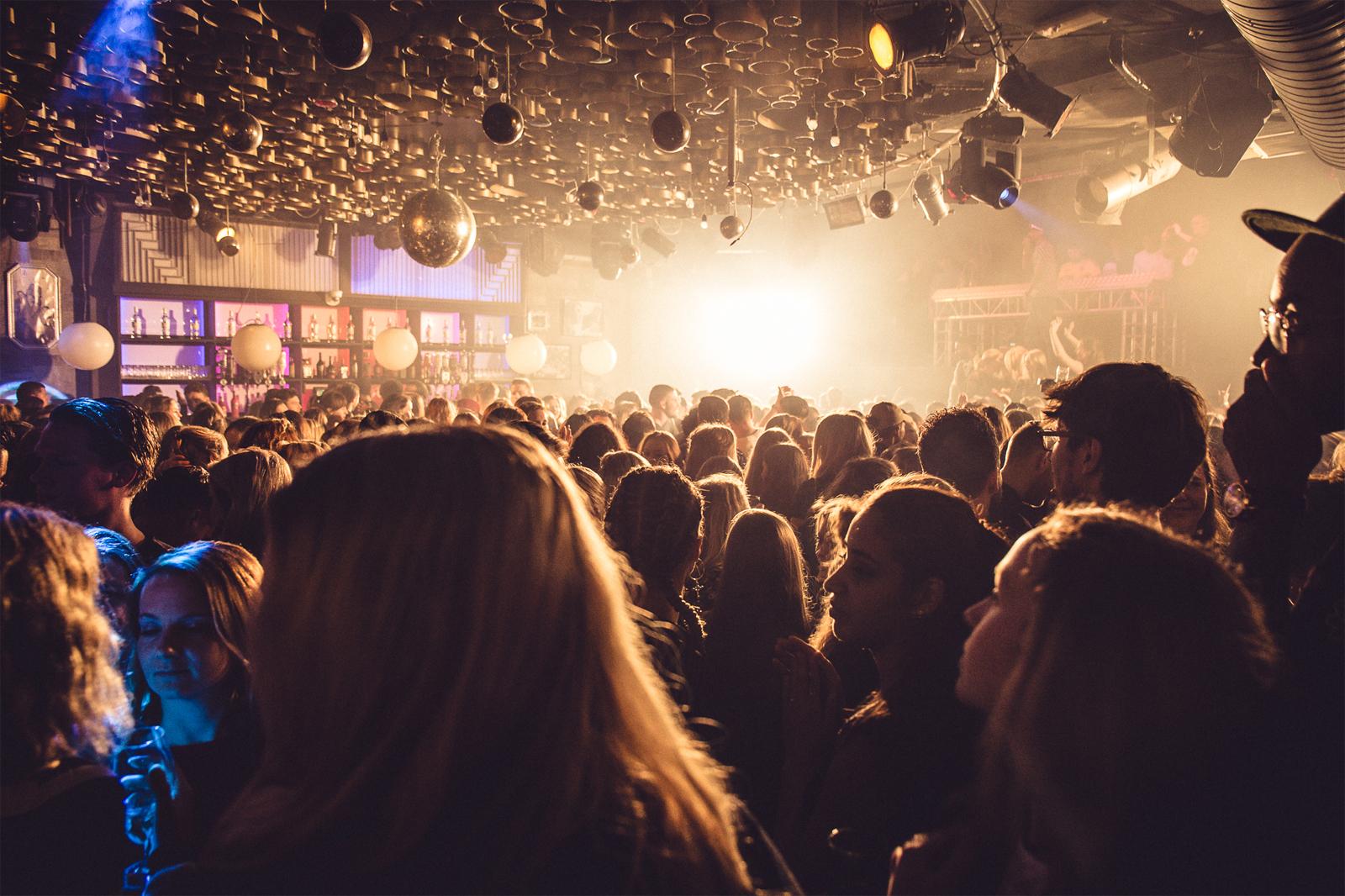 Evenementen bij Café Van Buren: De club